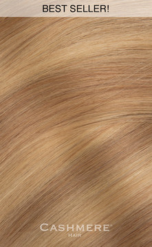 Cashmere Hair One Piece Hair Extension- Sunset Blonde