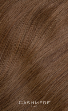 Cashmere Hair One Piece Hair Extension - Beverly Hills Brunette