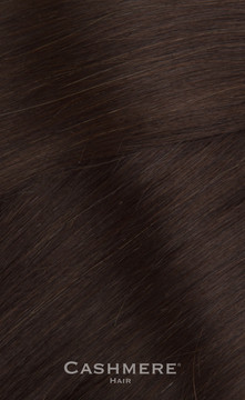 Cashmere Hair One Piece Hair Extension - Bel Air Brunette