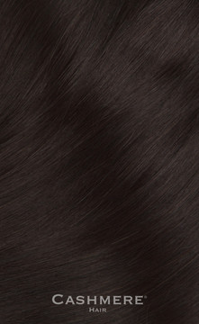 Cashmere Hair One Piece Hair Extension - Black Brown