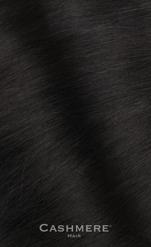 Cashmere Hair One Piece Hair Extension - Pure Black