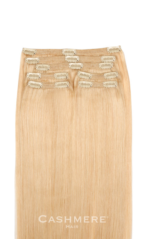 California Blonde Cashmere Hair Clip In Hair Extensions