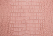 Alligator Skin Belly Matte Pink 30/34 cm Grade 4