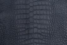 Alligator Skin Belly Matte Navy 25/29 cm Grade 4