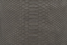 Python Skin Matte Grey
