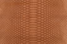 Python Skin Matte Cognac
