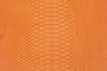 Python Skin Matte Orange