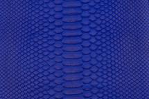 Python Skin Matte Cobalt