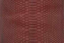 Python Skin Matte Burgundy
