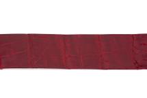 Belt Strip Crocodile Tail Glazed Rubino