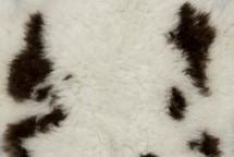 Long Hair Lamb Skin Spotted