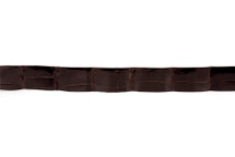 Belt Strip Alligator Glazed Brown 34 mm