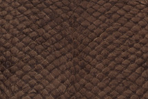 Arapaima Skin Matte Brown