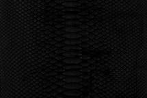 Python Skin Diamond Back Cut Matte Black
