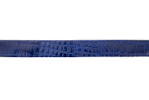 Belt Strip Alligator Glazed Cobalt 38 mm