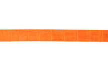 Belt Strip Alligator Matte Orange 38 mm