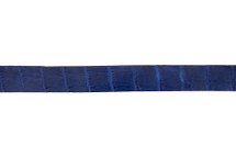 Belt Strip Alligator Matte Cobalt 38 mm