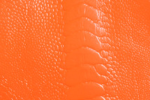 Ostrich Leg Glazed Neon Orange