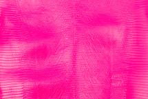 Lizard Skin Semi-Bleached Glazed Neon Pink