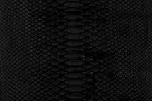 Python Skin Long Matte Black