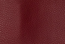 Leather Pebbled Burgundy