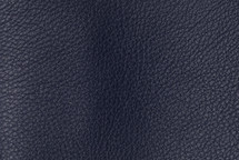 Leather Pebbled Navy