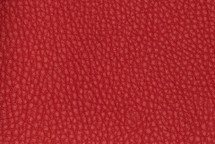 Leather Pebbled Red