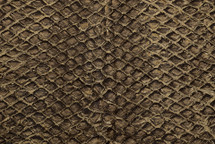 Arapaima Skin Rustic Sanded Saddle