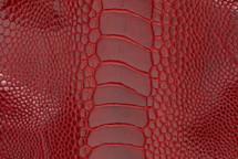 Ostrich Leg Glazed Flame Red