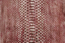 Python Skin Long Reef Red