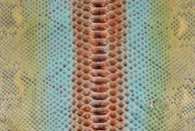 Python Skin Long Dragolo Giallo