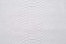Python Skin Long Matte White