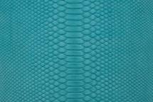Python Skin Matte Turquoise