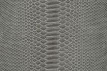 Python Skin Suede Grey