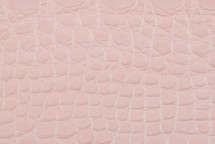 Alligator Flank Matte Light Pink