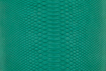 Python Skin Matte Emerald
