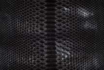 Python Skin Glazed Black