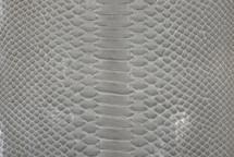 Python Skin Glazed Grey
