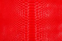 Python Skin Glazed Red
