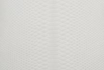 Python Skin Glazed White