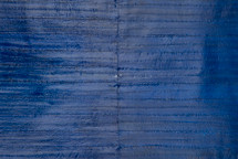 Eel Skin Panel Glazed Cobalt