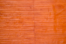Eel Skin Panel Glazed Mandarin
