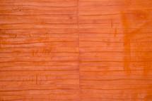 Eel Skin Panel Matte Mandarin