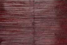 Eel Skin Panel Matte Wine