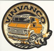 VINVANCO Chevy Vintage Van Sticker - 3rd Gen