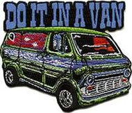 "Dirty Donny ""Do It In A Van"" Embroidered Patch"