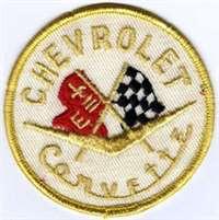 Vintage Chevrolet Corvette Cloth Patch