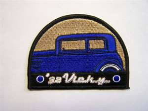 '32 Vicky Embroidered Patch
