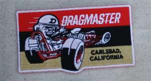 Dragmaster embroidered patch