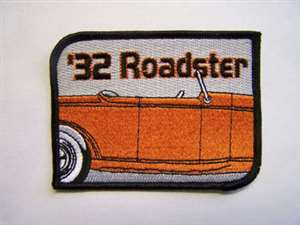 '32 Roadster Embroidered Patch